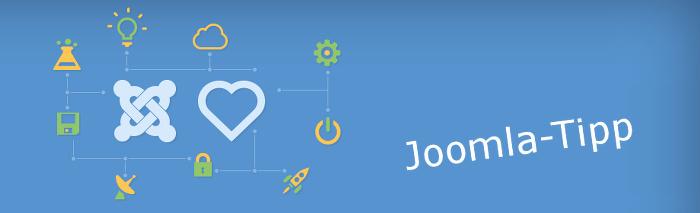 Joomla-Tipp: Erweiterungsdatensatz wurde nicht gefunden