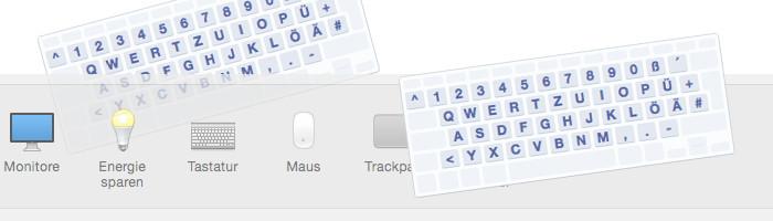 Deutsches Mac Tastaturlayout