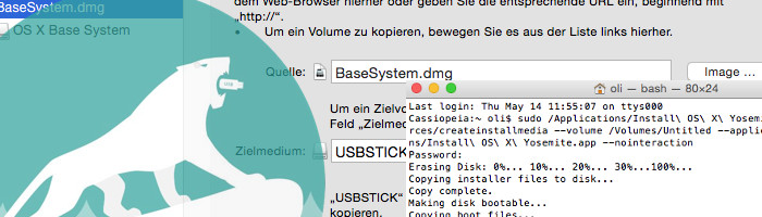 Mac OS X Boot Stick